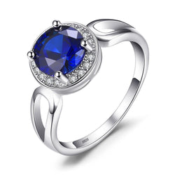 ARMA SAPPHIRE AND SILVER RING