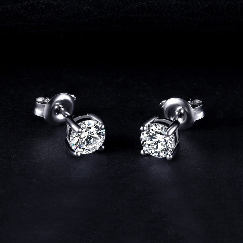 LEA PIERCED SILVER EARRINGS