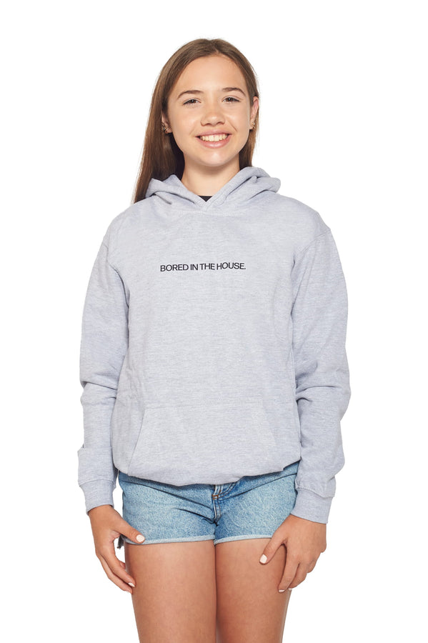 Junior DVG Bored Hoodie - Grey