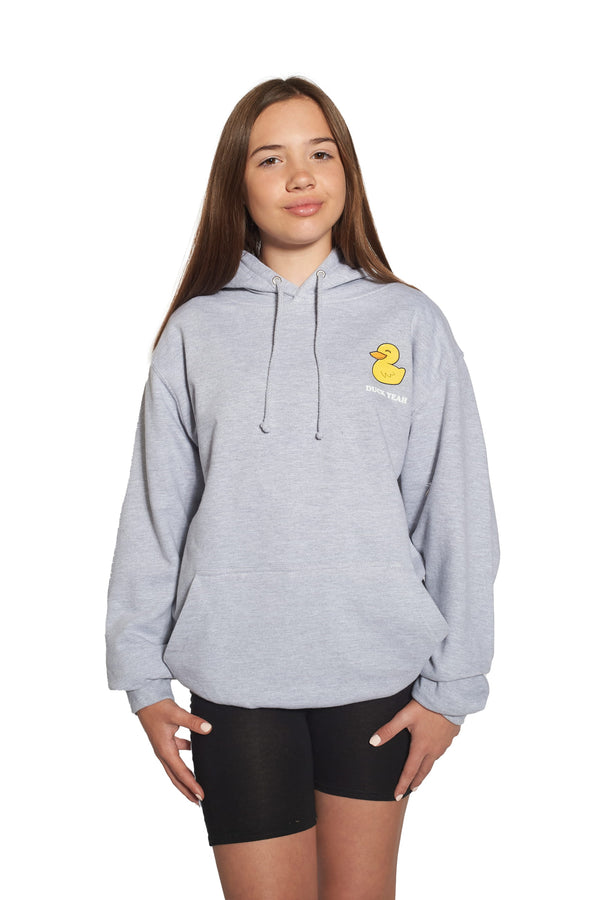 Junior DVG Duck Yeah Hoodie - Grey