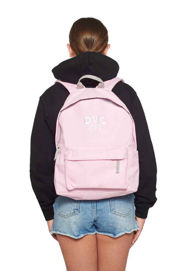 DVG Logo Back Pack - Pink