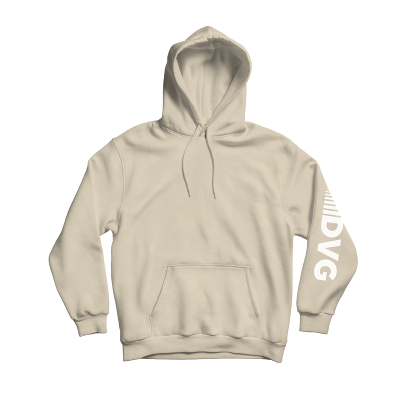 Adult DVG Fam Retro Hoodie in Sand