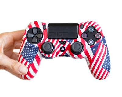 USA American Flag ps4 controller skin