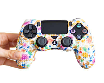 flower ps4 silicone case cover skin