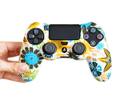 vgf gamers proflex floral flower skins for ps4 xbox one