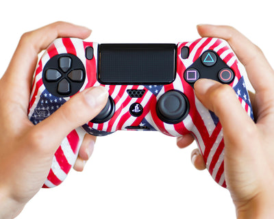 USA American Flag ps4 silicone controller-skin-cover-case