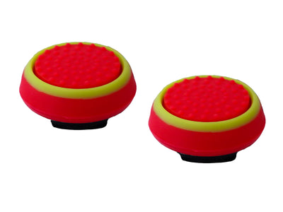 ps4 xbox thumbsticks red green grips accuracy