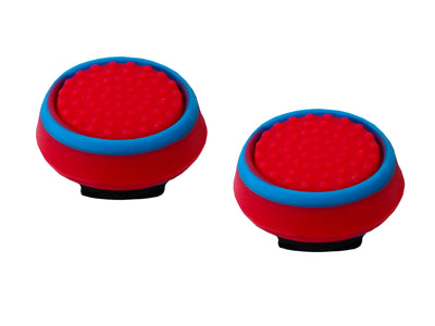 ps4 xbox thumbsticks red blue grips accuracy