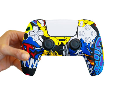 graffiti-art-ps5-controller-case-cover-silicone