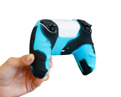 blue controller skin for ps5 dualsense