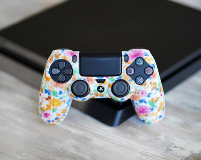 flowers ps4 skin for controller vgfgamers proflex case