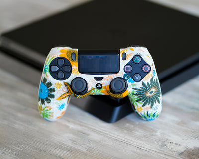 proflex flower floral controller skin cover case ps4