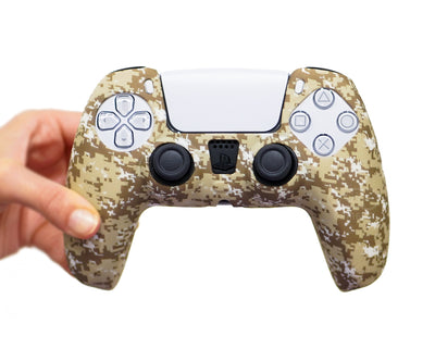 army military ps5 dualsense controller skin cover case
