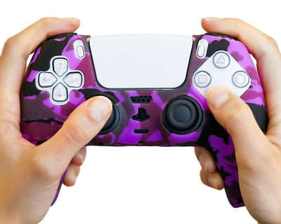 purple-ps5-controller-case-silicone-cover-wrap-grip-skin
