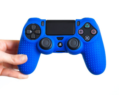 blue ps4 controller case