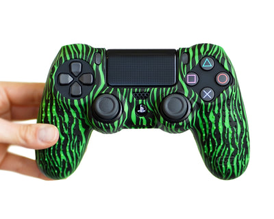 tiger stripe ps4 controller skin cover case