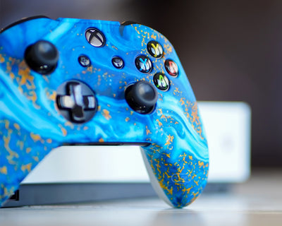 water ocean sea skin for xbox one controller