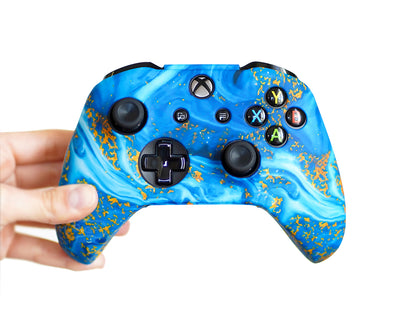 water xbox one s x controller cover silicone skin case grips