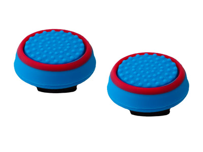 ps4 xbox one thumbsticks blue red grips