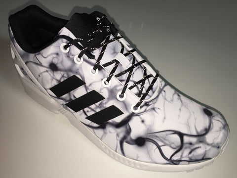 SR4U Reflective Laces Black