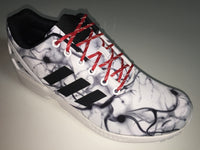 SR4U Reflective Laces Red