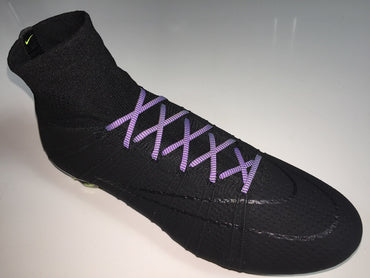SR4U Laces Purple/Neon Yellow Speckled Premium
