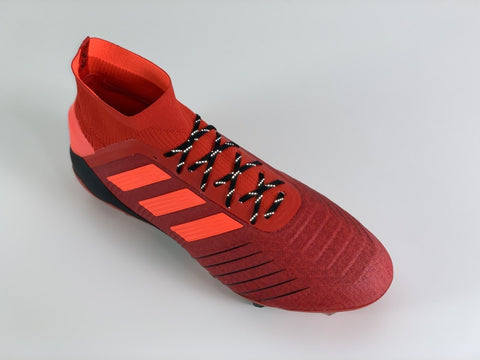 adidas Predator 19.1 Initiator Pack with SR4U Black Reflective Laces