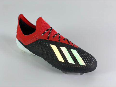 adidas X 18.1 Initiator Pack with SR4U Black Reflective Laces