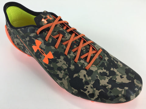 SR4U Laces Orange/Black Speckled Premium