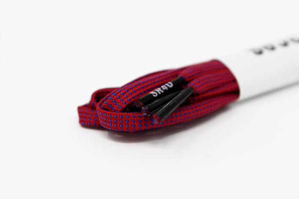 SR4U Laces Red/Blue Speckled Premium