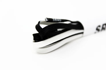 SR4U Laces 50/50 Black/White Premium