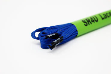 WIDE SR4U Laces Royal Blue Reflective
