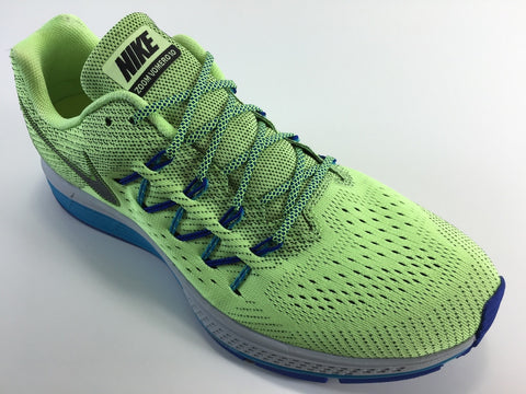 SR4U Laces Grid Blue/Neon Yellow Premium
