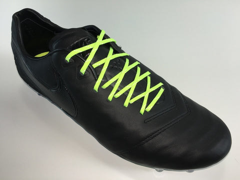 SR4U Reflective Laces Neon Yellow