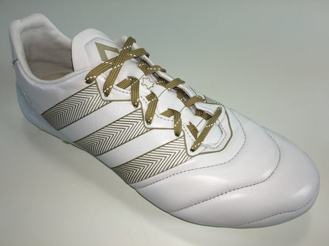 WIDE SR4U Laces Gold Reflective