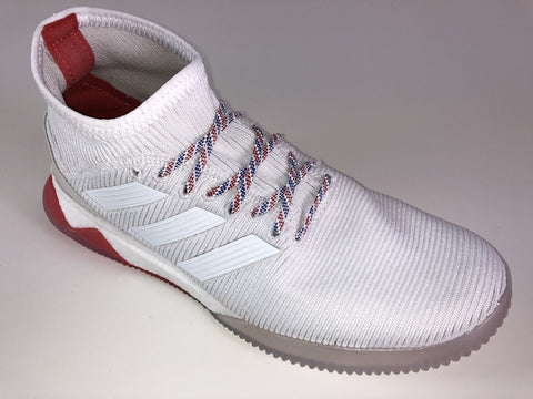 SR4U Reflective Red/White/Blue Checkered Laces