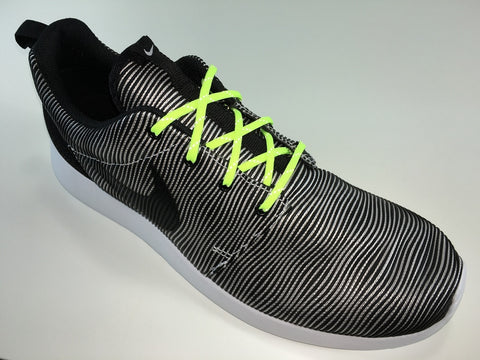 JR SR4U Laces Neon Yellow Reflective