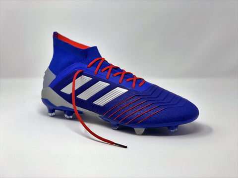 adidas Predator 19.1 Exhibit Pack with SR4U Red Reflective Laces