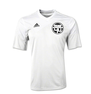 SR4U White Soccer Training Jersey