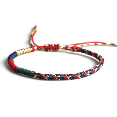 Bracelet Tibetain Couleurs Traditionnelles