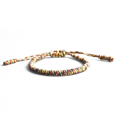 bracelet tibetain couleurs tibetaines