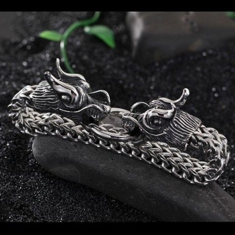Bracelet Viking Fafnir dragon