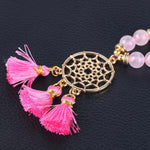 Mala Quartz Rose Attrape-Reves