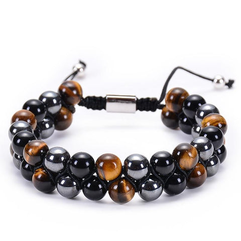 Bracelet Shamballa Double Triple Protection