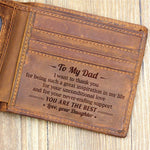 From Daughter To Dad - You Are The Best - Bifold Wallet