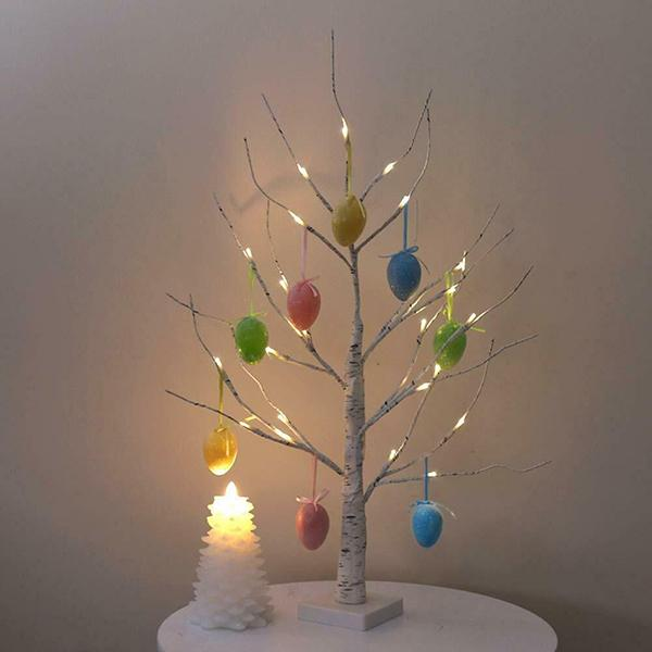 Easter Tree With Lights