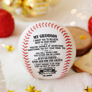 Grandpa To Grandson - You Will Never Lose - Baseball