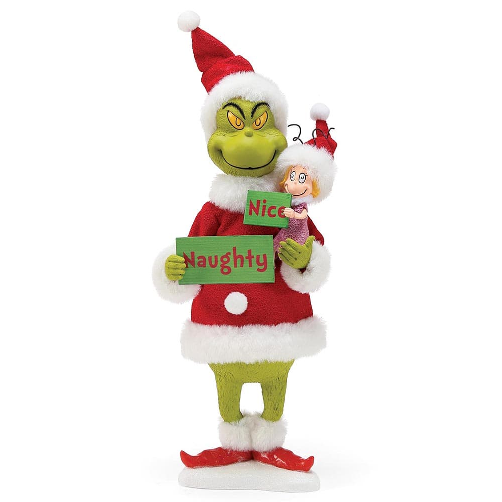 The Grinch Possible Dreams Naughty or Nice? Figurine - Possible Dreams by D56