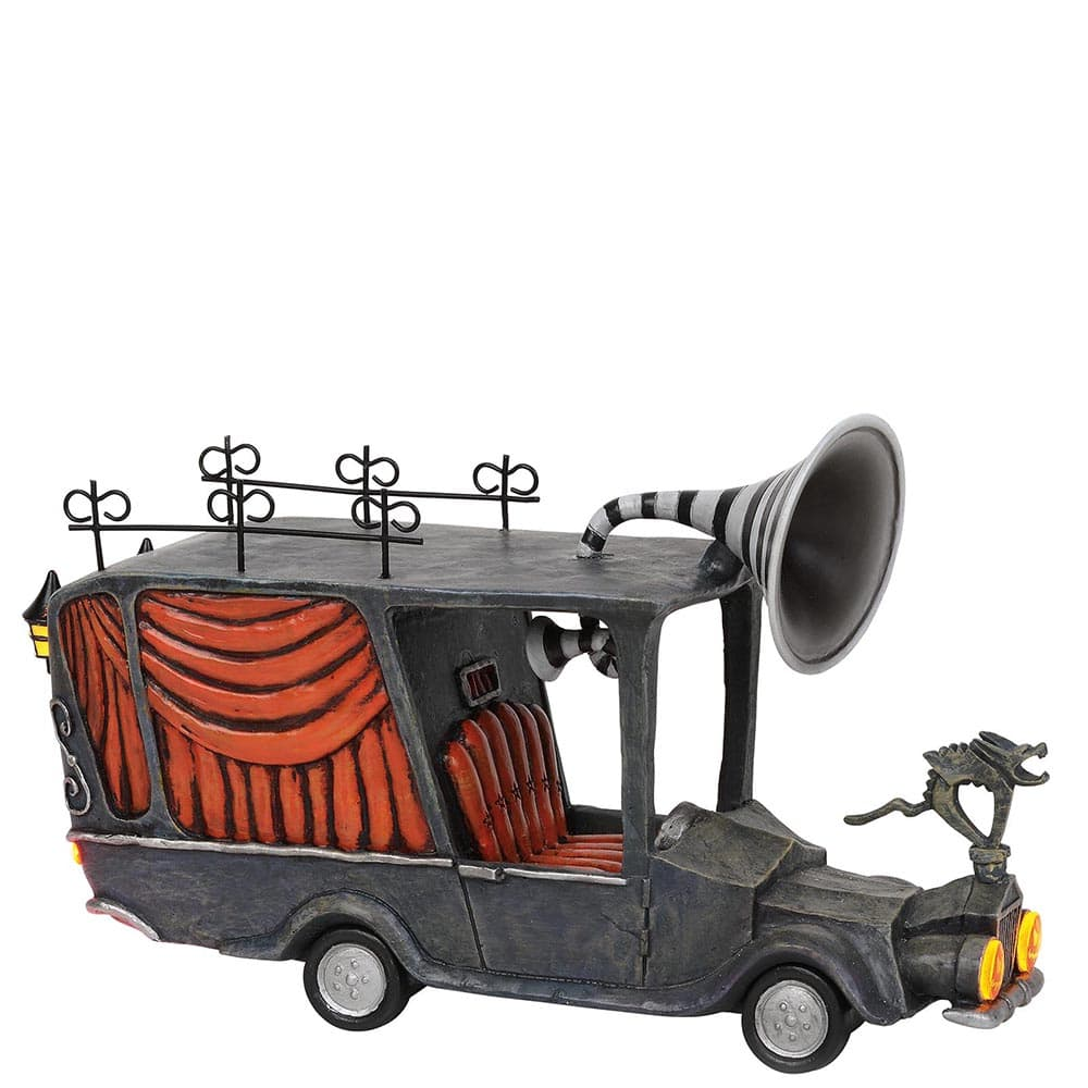 The Nightmare Before Christmas The Mayor's Car Figurine - Miss Mindy Presents Warner Brothers