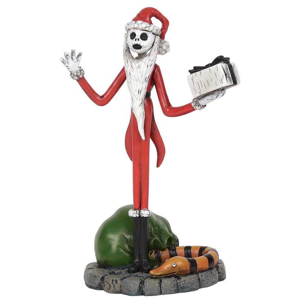 The Nightmare Before Christmas Jack Steals Christmas Figurine - Miss Mindy Presents Warner Brothers